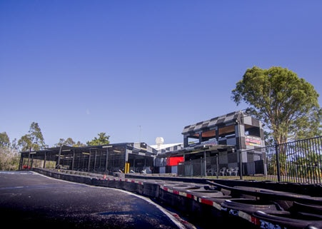 View of the centre at Go Karting World - Pimpama